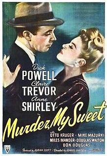 <i>Murder, My Sweet</i> 1944 film directed by Edward Dmytryk