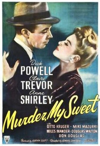 Murder, My Sweet - theatrical release poster