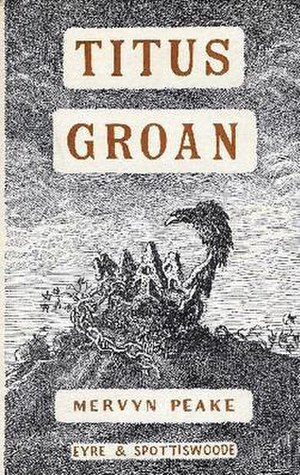 Gormenghast (series) - Cover to 1946 first edition of Titus Groan
