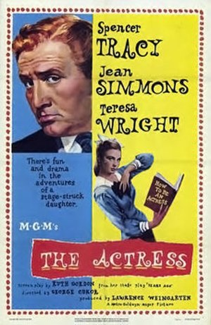 The Actress - Theatrical release poster