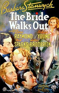 <i>The Bride Walks Out</i> 1936 film by Leigh Jason