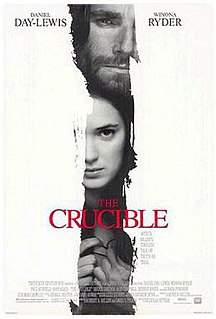 <i>The Crucible</i> (1996 film) 1996 film by Nicholas Hytner