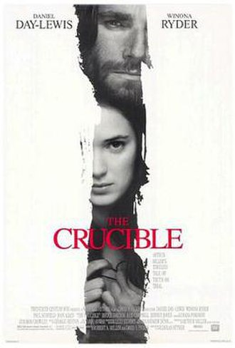The Crucible (1996 film) - Theatrical release poster
