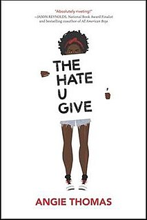 <i>The Hate U Give</i> Young adult novel