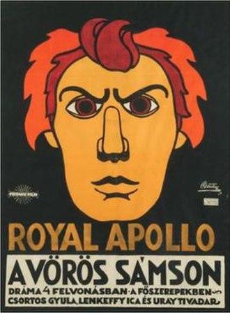 The Red Samson - 1917 Film Poster