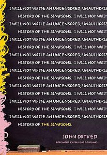 <i>The Simpsons: An Uncensored, Unauthorized History</i> book