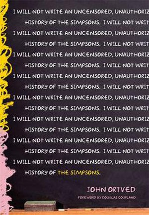 The Simpsons: An Uncensored, Unauthorized History - American cover art