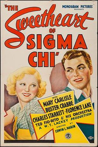 The Sweetheart of Sigma Chi (film) - Theatrical release poster
