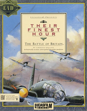 Their Finest Hour (video game) - PC cover art