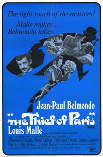 The Thief of Paris - American poster for The Thief of Paris