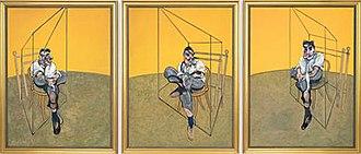 Three Studies of Lucian Freud - Image: Three Studies of Lucian Freud