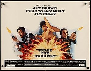 Three the Hard Way (film) - Original poster