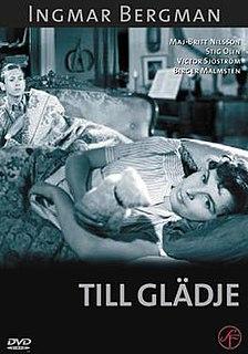 <i>To Joy</i> (film) 1950 film by Ingmar Bergman