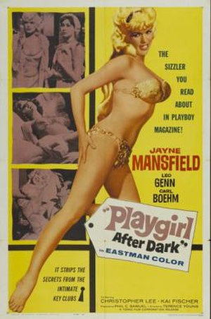 Too Hot to Handle (1960 film) - United States release poster