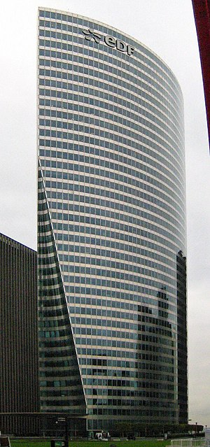 Électricité de France - EDF tower, La Défense, near Paris