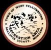 Sello oficial de West Yellowstone