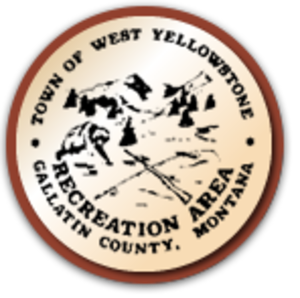 West Yellowstone, Montana - Image: Town of West Yellowstone Seal, January 2014