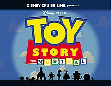 toy story the musical wikipedia