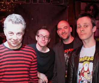 The Trash Can Sinatras - The band in March 2011
