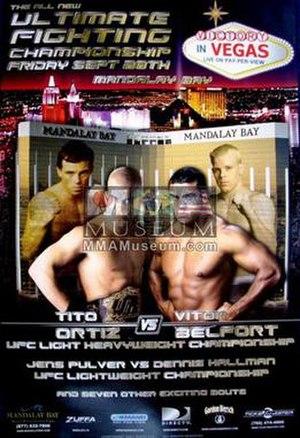 UFC 33 - Image: UFC 33 poster art
