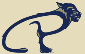 "University of Pittsburgh at Bradford - UPB's athletics logo incorporates a ""P"" into an abstract Panther"