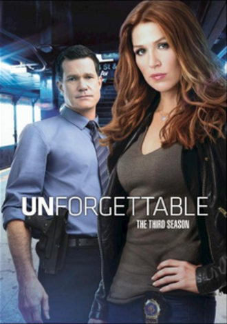 Unforgettable (season 3) - DVD cover