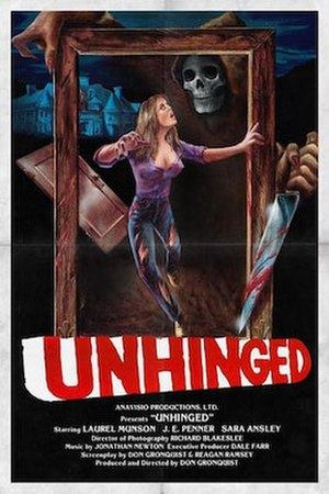 Unhinged (film) - Poster art from revival screening of film