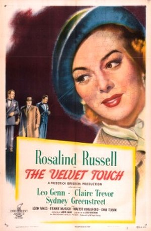 The Velvet Touch - Theatrical release poster