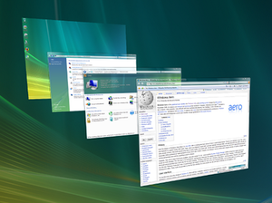 Features new to Windows Vista - Windows Flip 3D