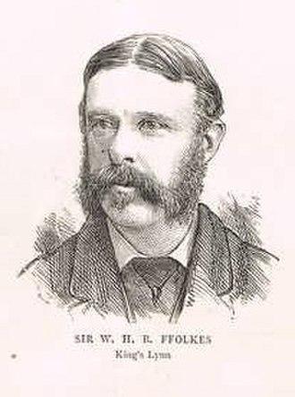 King's Lynn (UK Parliament constituency) - Sir William ffolkes