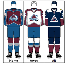 9ee8673a2 Colorado Avalanche - Wikipedia