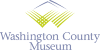 Washington County Museum - Image: Washington County Museum logo 2012
