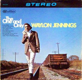 The One and Only (Waylon Jennings album) - Image: Waylon Jennings The Oneand Only