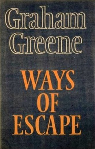 Ways of Escape - First edition