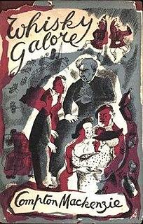 <i>Whisky Galore</i> (novel) book by Compton Mackenzie