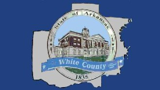 Flags of counties of the United States - Image: White county flag