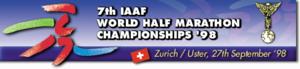 1998 IAAF World Half Marathon Championships - Image: Whmc logo 1998