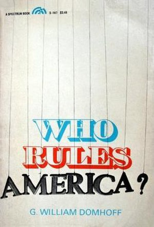 Who Rules America? - Cover of first edition