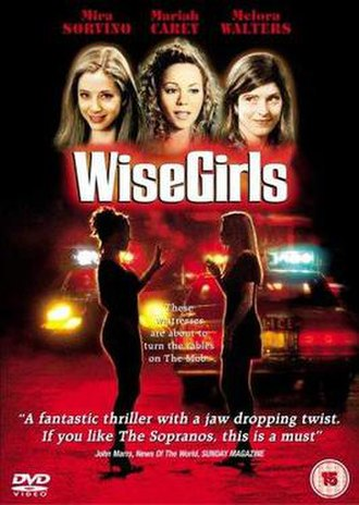 WiseGirls - UK DVD cover art for WiseGirls.