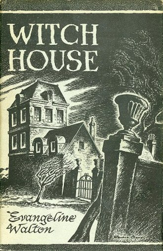 Witch House - Dust-jacket illustration by Ronald Clyne.