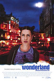 <i>Wonderland</i> (1999 film) 1999 British drama film by Michael Winterbottom