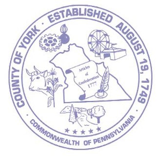 York County, Pennsylvania - Image: York County pa seal