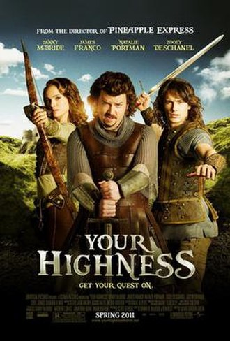 Your Highness - Theatrical release poster