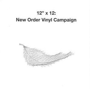 "12""x12 New Order Vinyl Campaign"