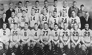 History of the Chicago Bears - Team photo of the Bears, 1932 league champions.