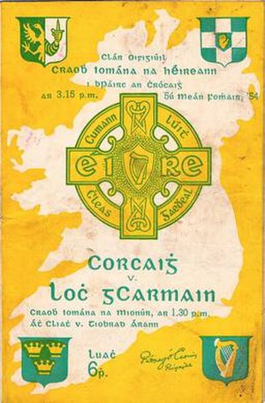 1954 All-Ireland Senior Hurling Championship Final - Image: 1954 All Ireland Senior Hurling Championship Final programme