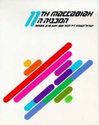 1981 Maccabiah Games - Image: 1981 Maccabiah logo