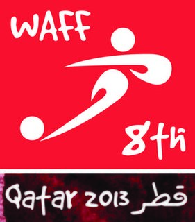 2014 WAFF Championship 8th WAFF Championship, held in Qatar between 2013 and 2014