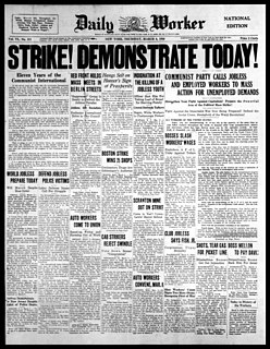 <i>Daily Worker</i> 20th-century American newspaper