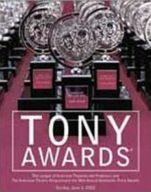 56th Tony Awards - Official poster for the 56th annual Tony Awards